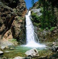 cascada en valle de Ourika