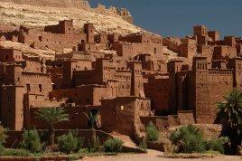 ksar ait ben haddou, ciudad fortificada, Uarzazate